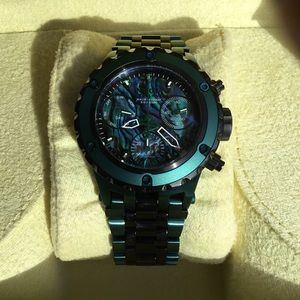 NWT INVICTA RESERVE Green Black 40mm 26017 SoldOut